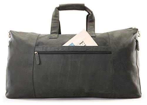 Echtem Sydney Aus Büffel Reisetasche Leder Leabags OP80wnXk