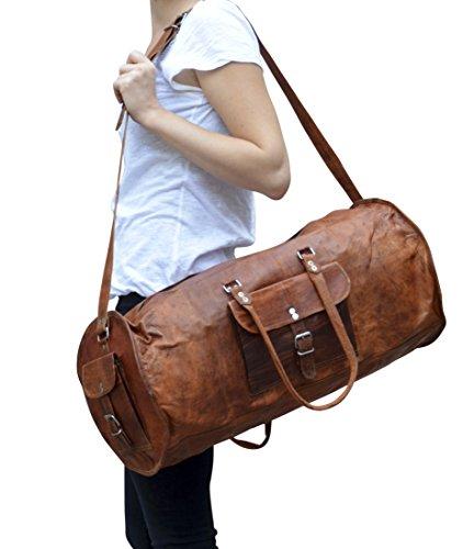 gusti leder archie weekender dunkelbraun weekender bag. Black Bedroom Furniture Sets. Home Design Ideas