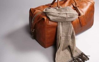 Weekender Leder Tasche