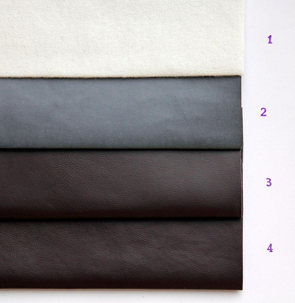 Beispiel der Herstellungsschritte zum typischen Polyurethan-Kunstleder