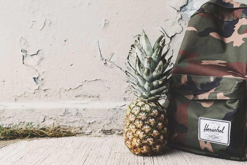 Taschen-Trends für Herren Rucksack im Army Look