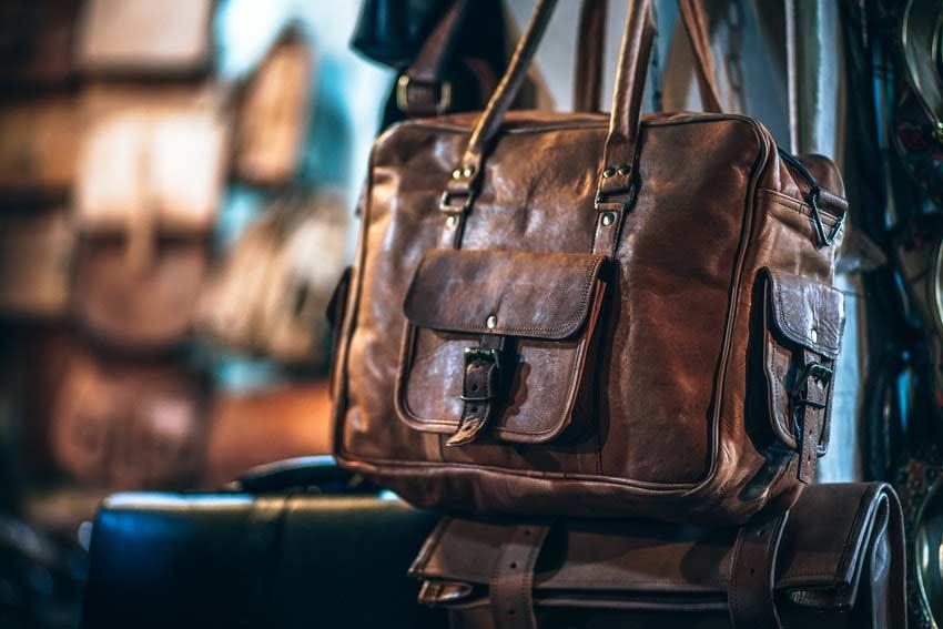 Taschen-Trends für Herren im Used Look