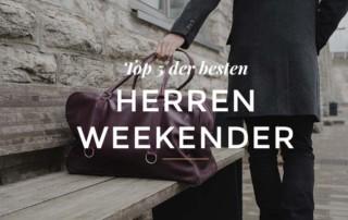 Top Weekender Taschen für Herren