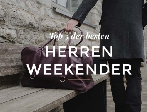 Die Top 5 der besten Weekender Taschen für Herren